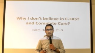 C-FAST & Complete Cure علامات إستفهام علمية