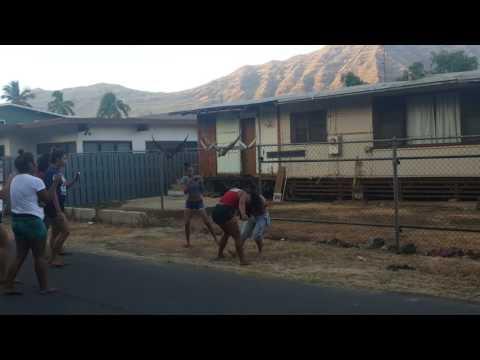 Makaha Cabanas Fight