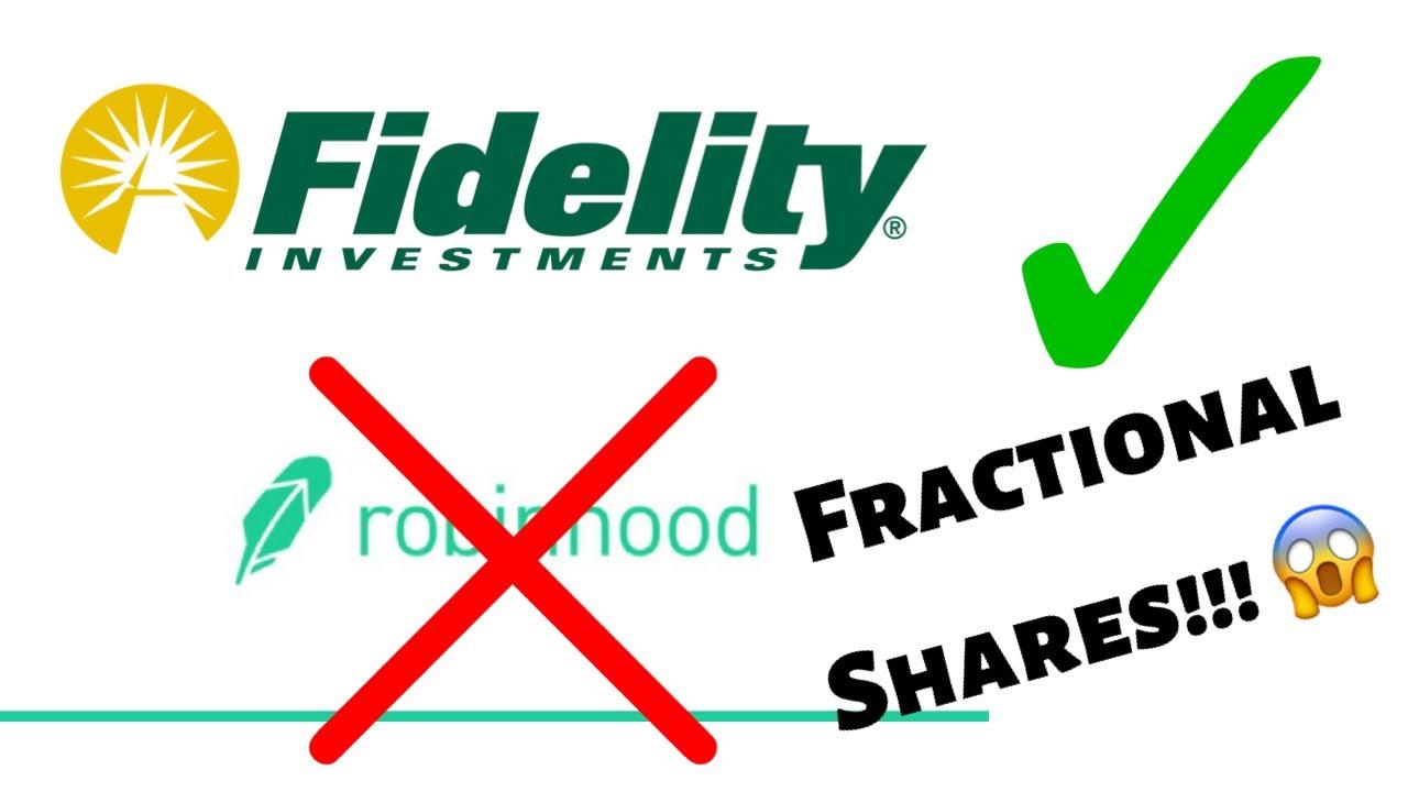 Fidelity fractional shares