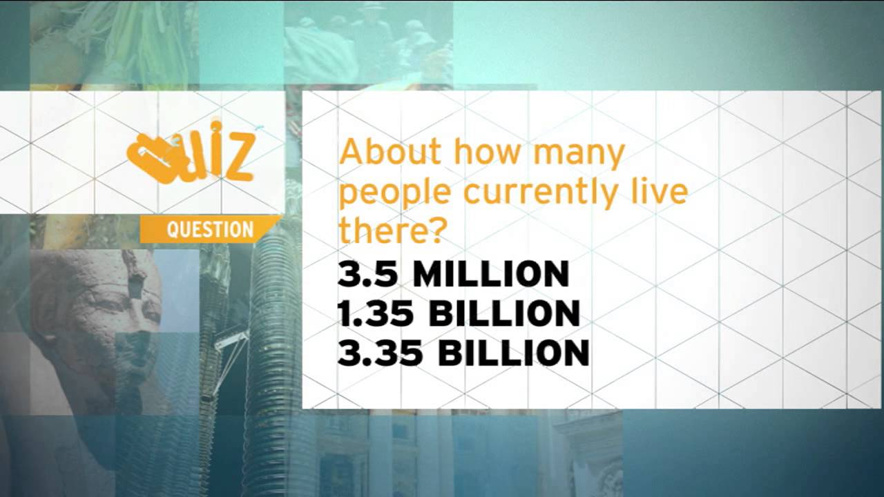 How many people live