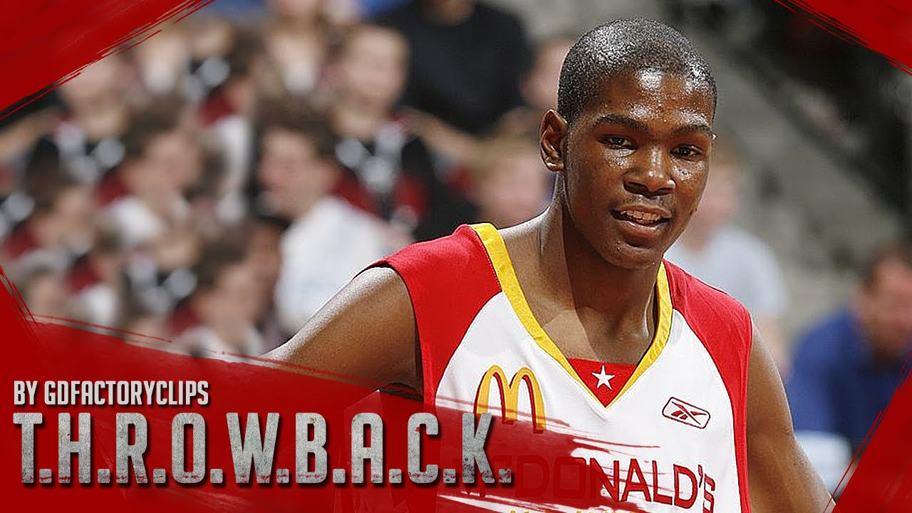 c1179585afb5 Kevin Durant Full Highlights at 2006 McDonald s All-American Game ...