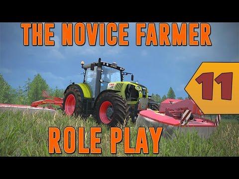 Farming simulator 15 - Rôle Play - The Novice Farmer - Episode 11 - Le New Holland!