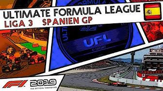 F1 2019 Livestream | UFL Liga 3 | Spanien GP | #F12019 #F1 #UFL #SPAGP