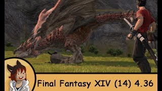 FFXIV Stormblood - The king of the Skies (Monster Hunter World event)