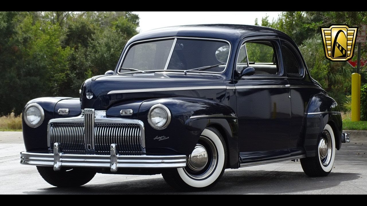 1942 ford super deluxe gateway classic cars orlando 627 youtube 1947 Ford 4 Door Sedan