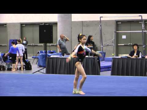 Tienna Nguyen Floor - 2014 Elite Qualifier San Diego