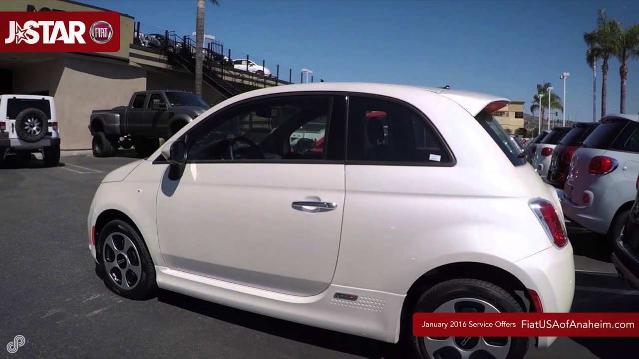 J Star FIAT January Service Center Offers - YouTube