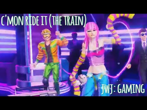 C'MON N' RIDE IT (THE TRAIN) (Dance Central 3 Gameplay)