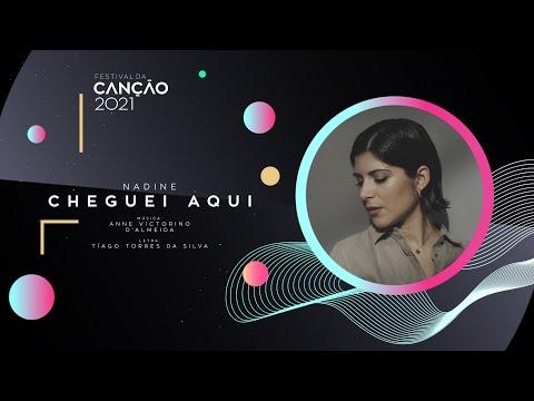 Nadine - Cheguei Aqui (Lyric Video) | Festival da Canção 2021