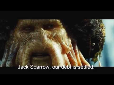 "Pirates Of The Caribbean: Dead Man's Chest - ""Jack Sparrow our debt is settled"" [FULL HD]"