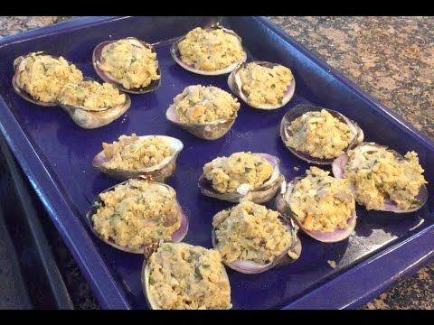 Nonnie Annette Makes Stuffed Clams (Feast Of Seven Fishes) (Christmas Eve Dinner)