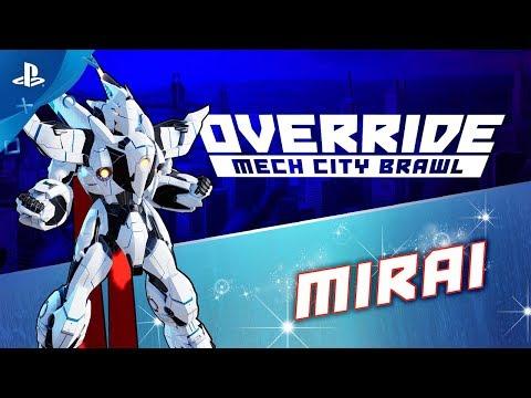 Override Mech City Brawl - DLC #4: Mirai   PS4