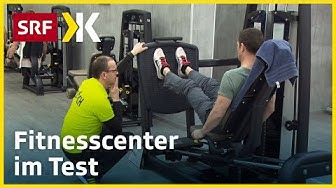 Fitness-Studios im Test: Hier gibt es das beste Training |   2017 | SRF Kassensturz