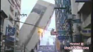 بالفيديو   مباشر ولحظة سقوط عمارة بالفلبين مكونة من 11 طابق   غريب جدا