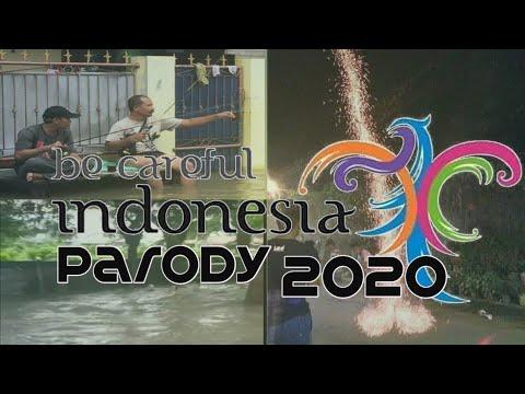 PARODI PESONA INDONESIA TERBARU 2020 | DIJAMIN NGAKAK,EDISI BANJIR