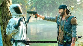 Days Gone Ep 20 Making Contact & I've Pulled Weeds Before Walkthrough PS4 PRO 4k