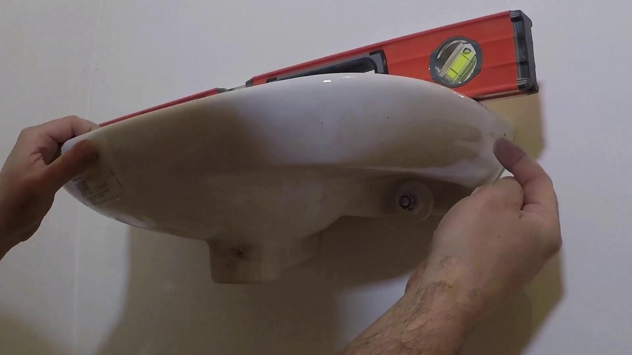 Comment Installer Un Lave Main Avec Meuble comment installer un lavabo,lave main - tuto video installation lavabo