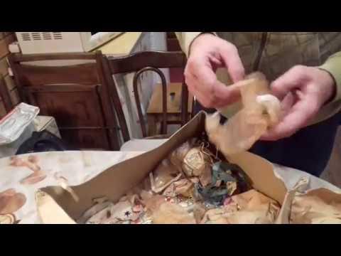 Нашли настоящий клад!Советские Ёлочные игрушки наших родителей