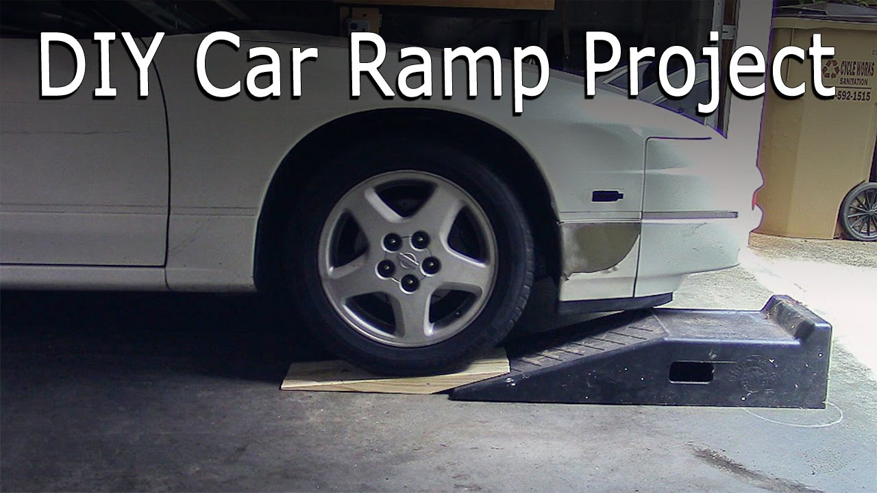 Car too low for ramps? Here's a DIY fix! - YouTube