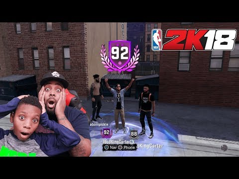 NBA 2K18 MyCAREER - REPPING UP TO 92 WIT MY SON! I Put Him On Punishment Ep 31 (4K PS4 Pro Gameplay)