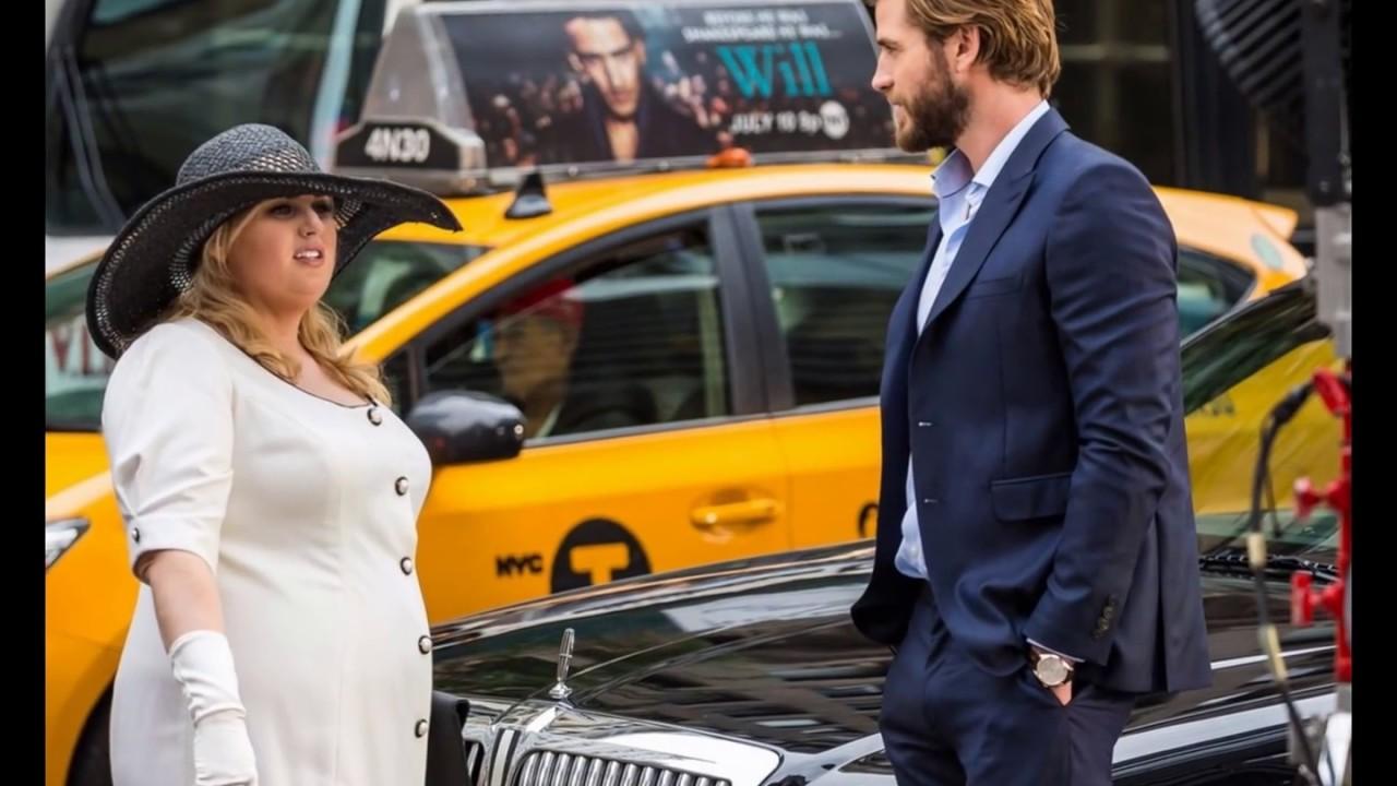 1e27247e6b970 Liam Hemsworth   Rebel Wilson Channel  Pretty Woman  While Filming  Isn t  It Romantic