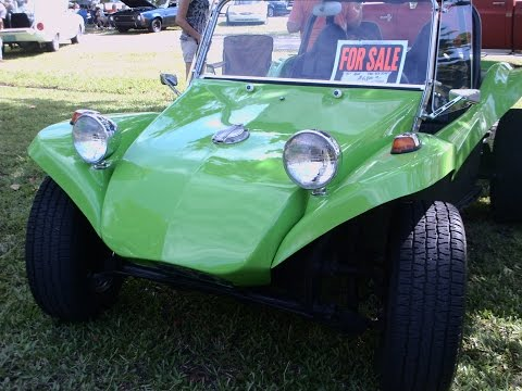 1971 VW Dune Buggy Lime DaytonaMkt080115