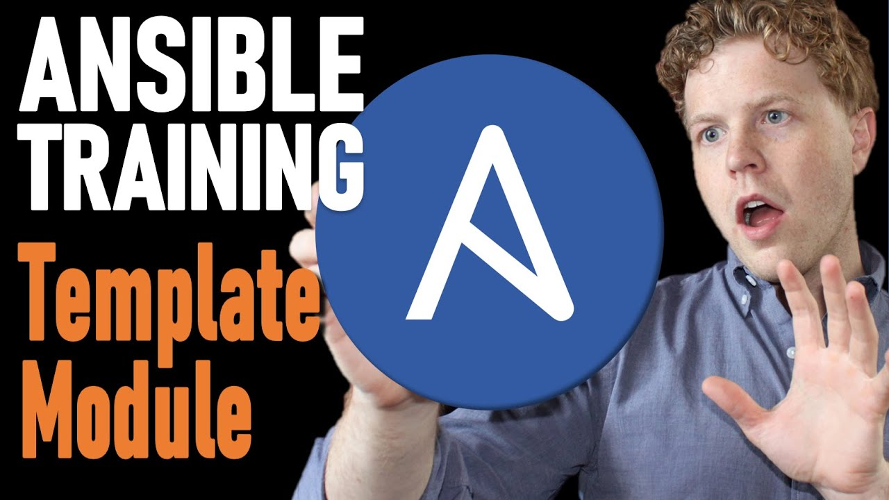 Ansible Template | Ansible Tutorial Using The Template Module In A Playbook With