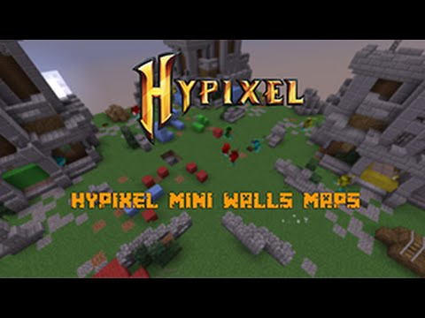 Hypixel Mini Walls Skydome Map, Volcanic Map, Towers Map (Map ...