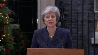 Brexit chaos could topple British PM Theresa May