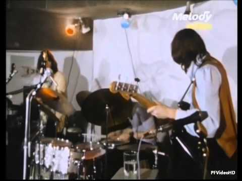 [HD] Pink Floyd - Let There Be More Light in French TV 1968