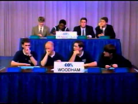 2000 Cox Communications Academic Challenge - Championship Match - Woodham-PHS