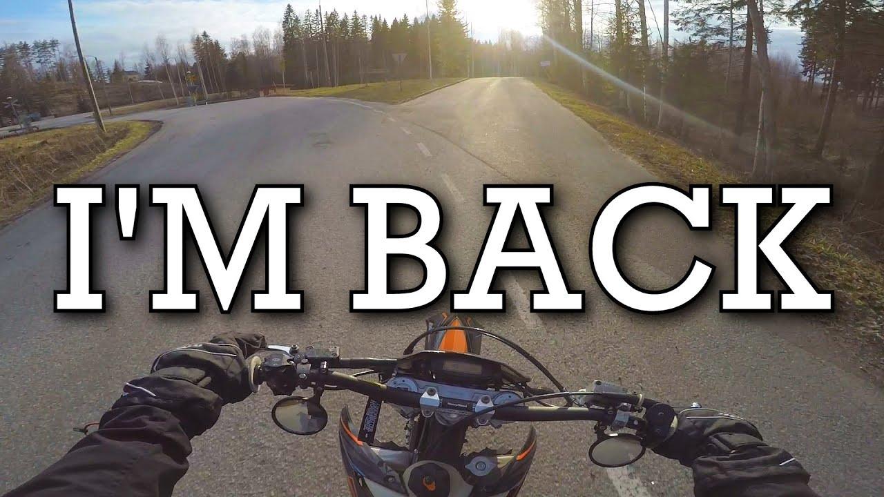 Kevään Ekat Ajot    KTM EXC 250