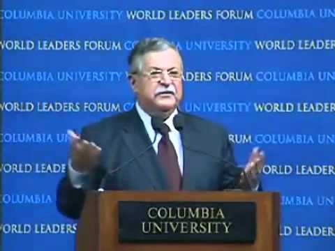 Jalal Talabani - answers a Turkish student for why he uses word 'Kurdistan'