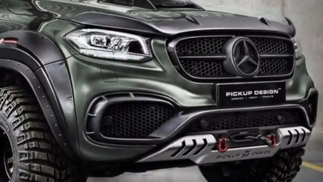 mercedes x class gets two tuning jobs from carlex youtube. Black Bedroom Furniture Sets. Home Design Ideas