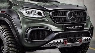 Mercedes X-Class Gets Two Tuning Jobs From Carlex