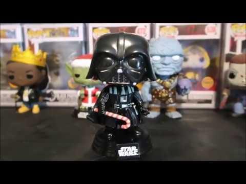 Star Wars Holiday Darth Vader Bobble-Head by Funko