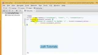 PHP Tutorial - insert data into MySQL using   MySQLi(PHP For Beginners)