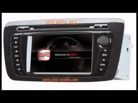 car dvd for seat ibiza 2009 2013 with gps tv canbus radio youtube. Black Bedroom Furniture Sets. Home Design Ideas