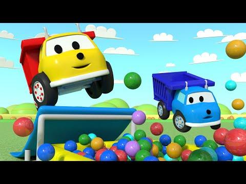 Ethan y Pequeño Ethan Hacen Algunos Trucos - Aprende con Ethan el Camión Volquete | Dibujos Anima...