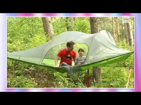 la tente suspendue par on n 39 est pas des pigeons rtbf youtube. Black Bedroom Furniture Sets. Home Design Ideas