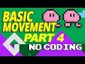 Game maker Studio 2 - Basic movement - Part 4 - no coding. ( Walking Animation )  Dnd Drag and drop