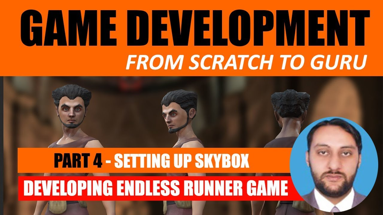 Part 04 - Setting Skybox For The Game - Standard Assets | Game Development From Scratch To Guru