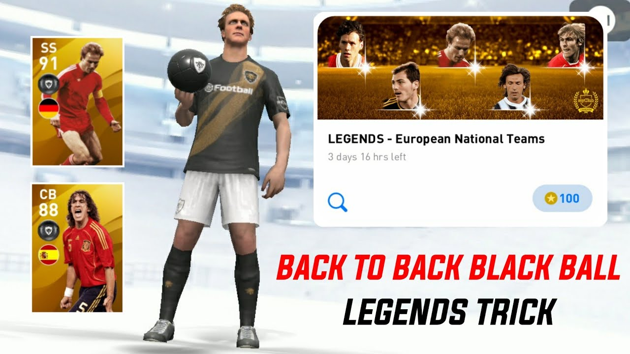 HOW TO GET K. RUMMENIGGE AND OTHER LEGEND FROM LEGENDS - EUROPEAN NATIONAL TEAMS || PES 2020 MOBILE