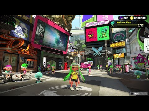 Liveplay - Nintendo Switch - Splatoon 2 Splatfest World Premiere - Intro & Hub