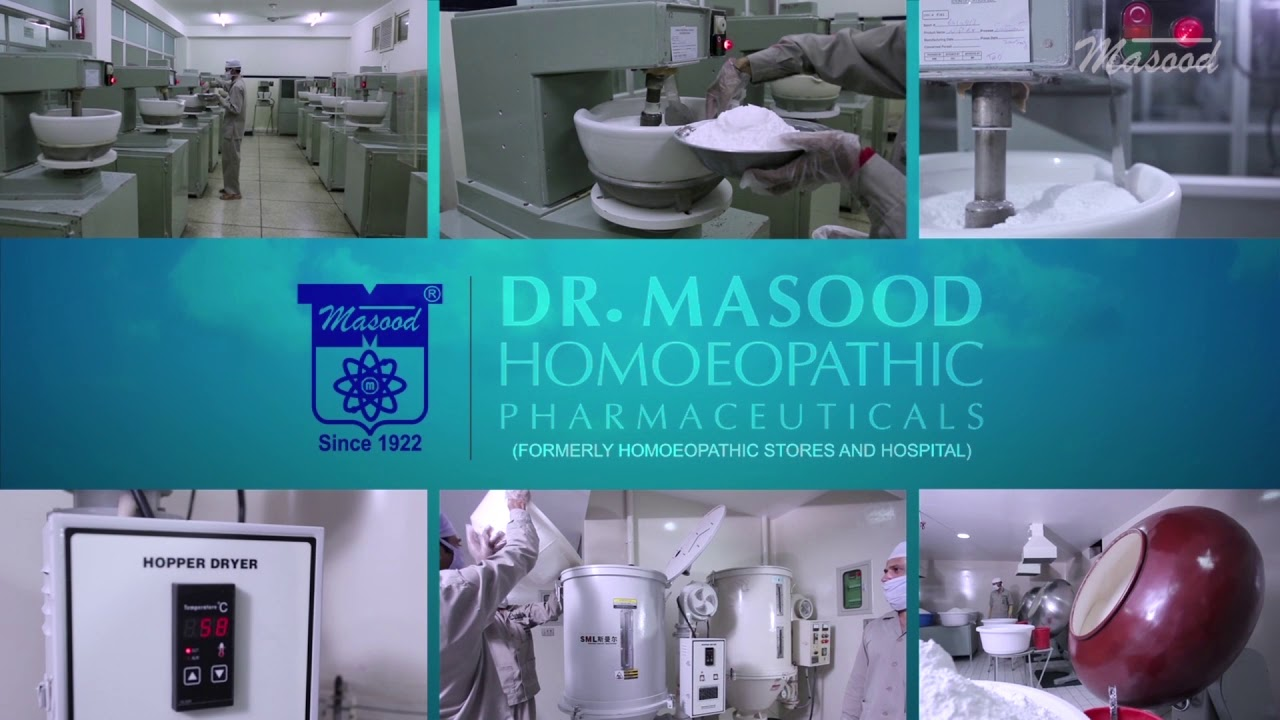 Dr  Masood Homeopathic Pharmaceutical Online Pharmacy Pakistan