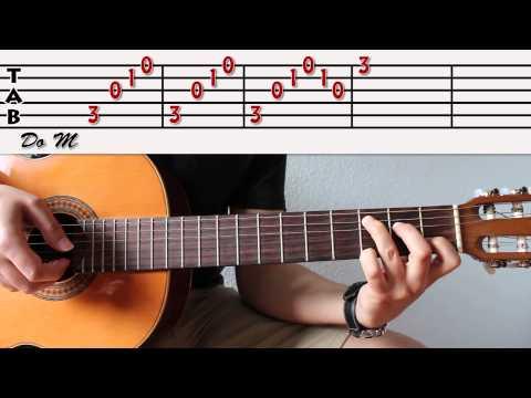 Canción para practicar Arpegios y Ligaduras (parte 1 de 2). Curso básico de Acordes 27