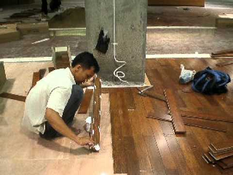 Installing Coconut Flooring I Coconutfloorings Youtube