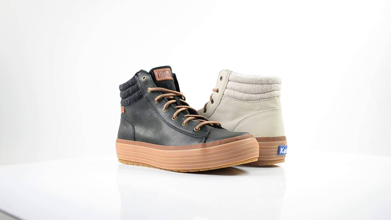 KEDS HIGH RISE FOOTWEAR - WHITE | FW16