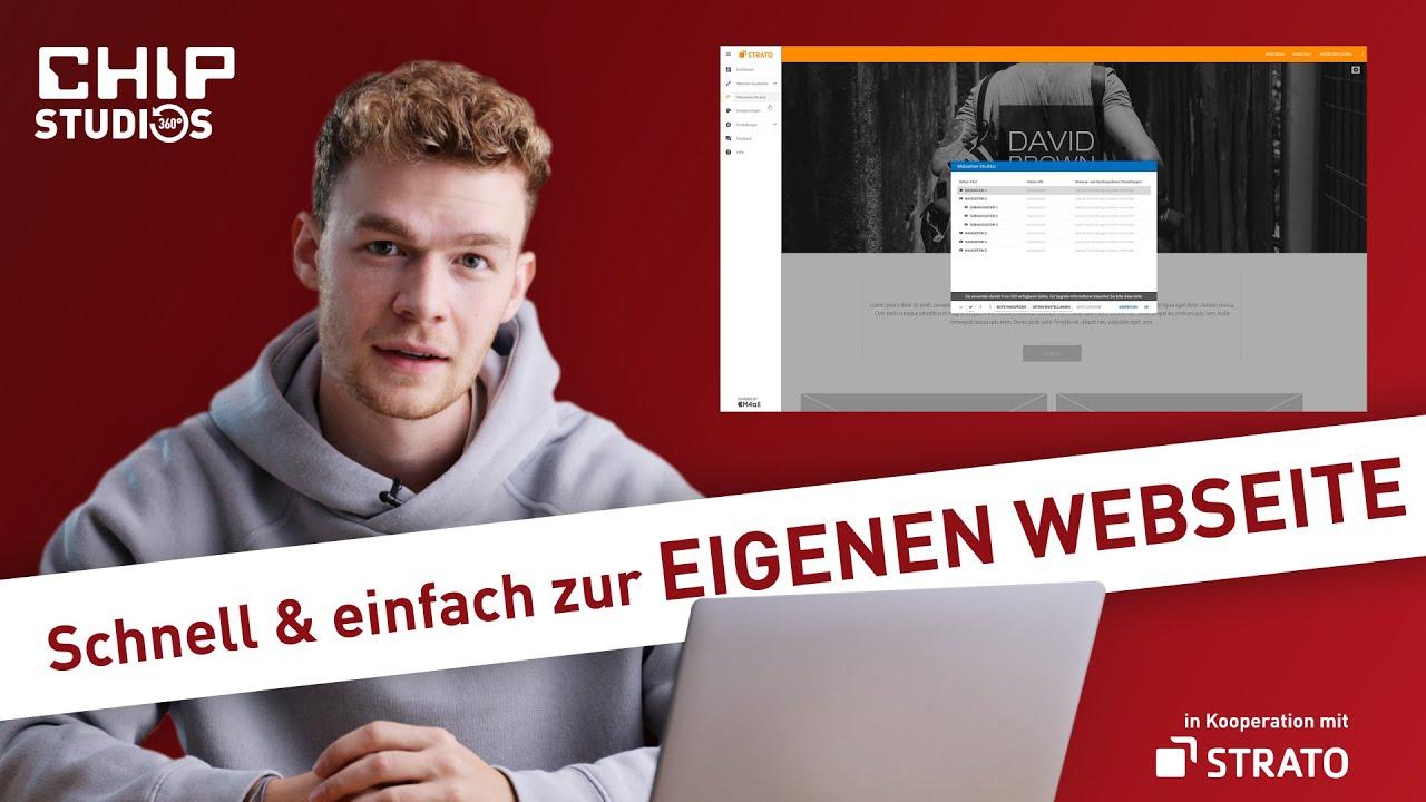 Eigene Website erstellen: So klappt es mit dem Strato-Homepage-Baukasten (Tutorial)