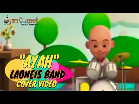 Upin dan Ipin nyanyi lagu buat ayah tercinta official Vidio HD MP4